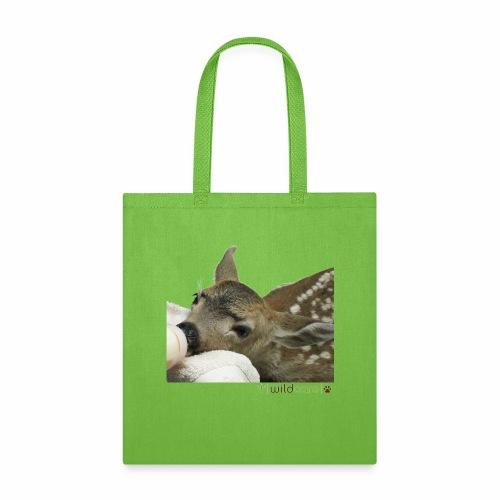 Orphaned Deer at WildCare - Tote Bag