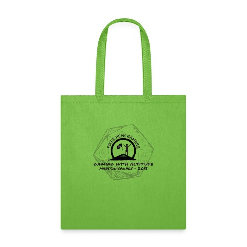 Pikes Peak Gamers Convention 2018 - Accessories - Tote Bag