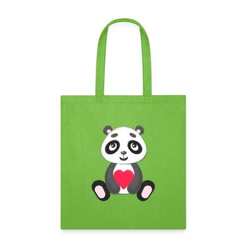 Sweetheart Panda - Tote Bag
