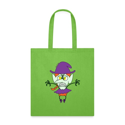 Scary Halloween Witch - Tote Bag