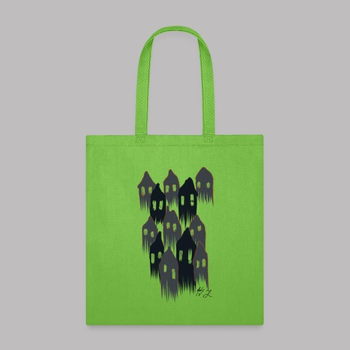 Spooky House Ghosts - Tote Bag