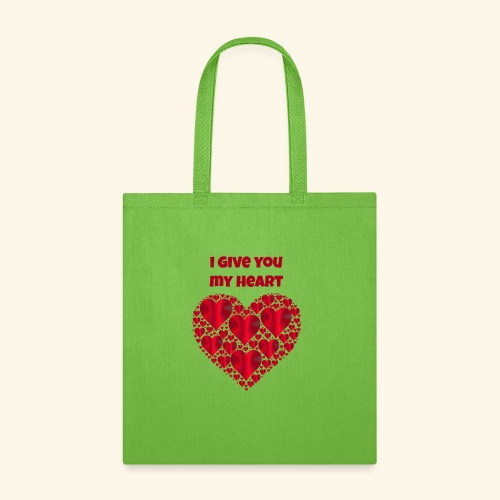 I Give You My Heart valentine - Tote Bag