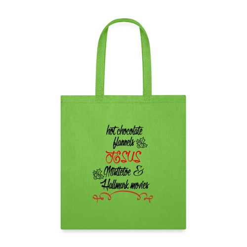 Christmas and Hallmark movies - Tote Bag