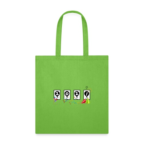 New Years Odometer Party Hats 2021 - Tote Bag