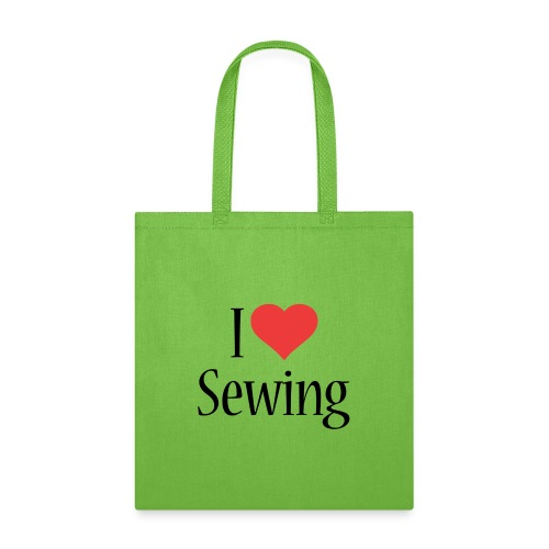 I Love Sewing - Tote Bag
