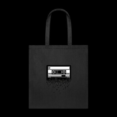 Music Notes Cassette Tape - Tote Bag