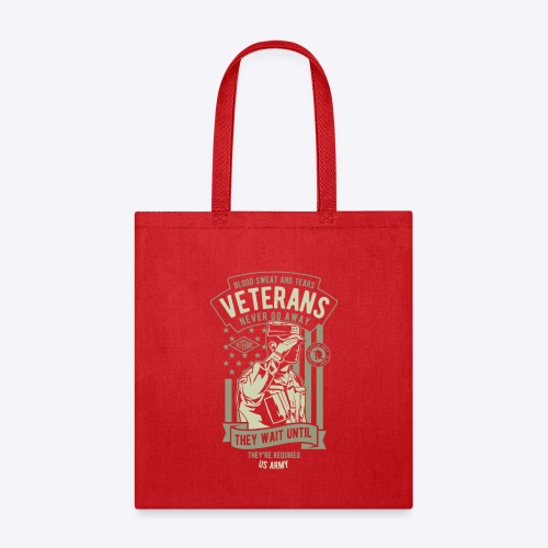 US Army Veterans - Tote Bag