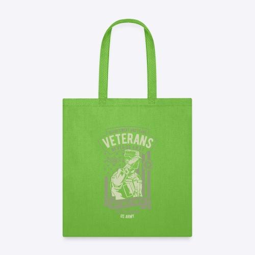 US Army Veterans - Tote Bag