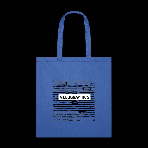 MELOGRAPHICS   Blackout Poem - Tote Bag