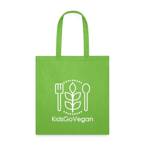 Kids Go Vegan - Tote Bag