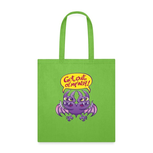 Get out of my way two-headed bat - Tote Bag