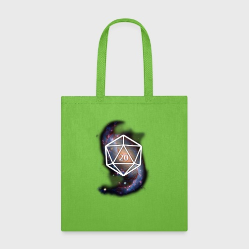 Astronomy Geek d20 Galaxy - Tote Bag