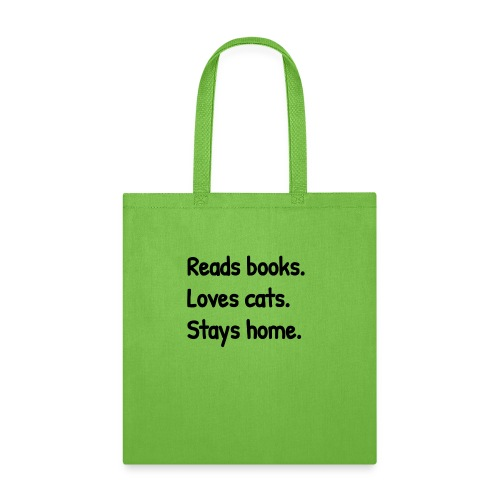 Loves Cats - Tote Bag