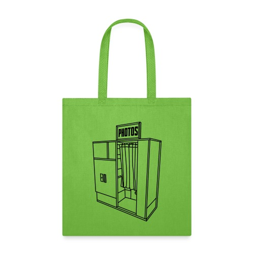 Photobooth.net T-Shirt with Logo and Name - Tote Bag
