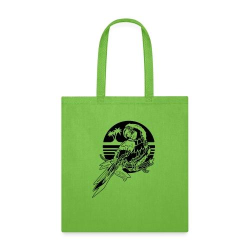Tropical Parrot - Tote Bag