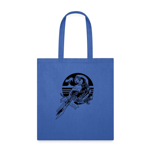 Tropical Parrot - Tote Bag