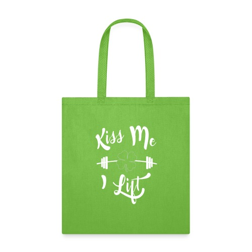 Kiss me, I lift! - Tote Bag