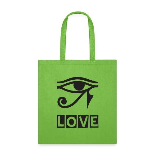 EYE LOVE DSGN TRNSP - Tote Bag