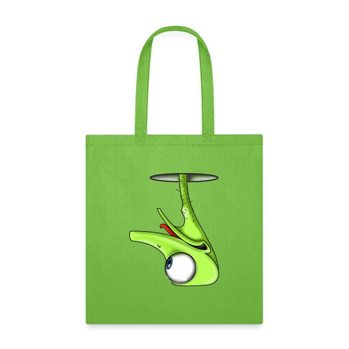 Funny Green Ostrich - Tote Bag