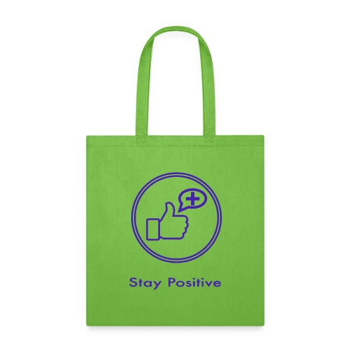 Stay Positive Icons without inwils - Tote Bag