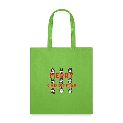 Playful Christmas Occasion T Shirt - Tote Bag