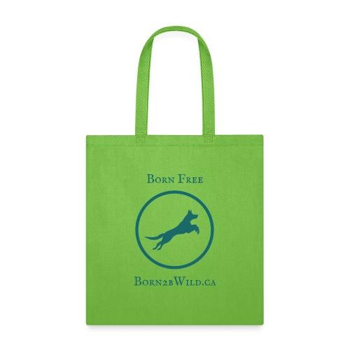 Born 2B Wild Full Logo - Tote Bag