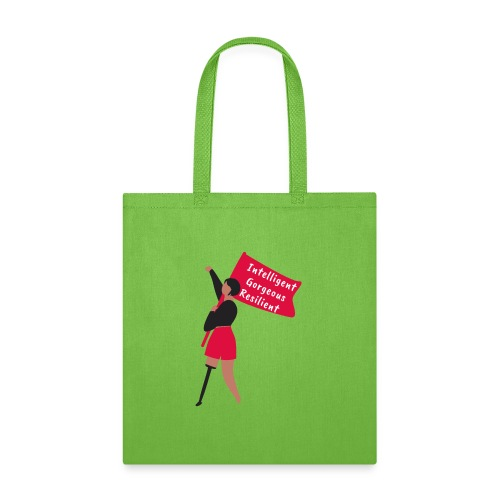 Intelligent Gorgeous Resilient - Tote Bag