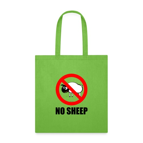 NO SHEEP™ TEE - Tote Bag