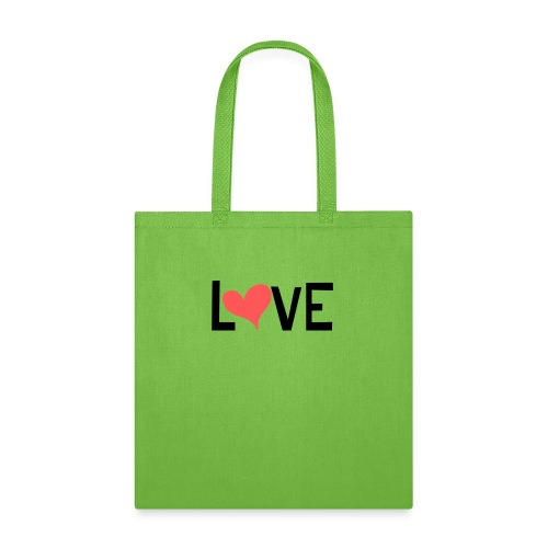 LOVE heart - Tote Bag