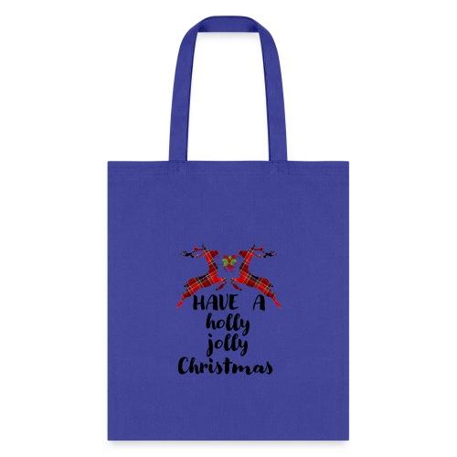 Holly Jolly Christmas - Tote Bag