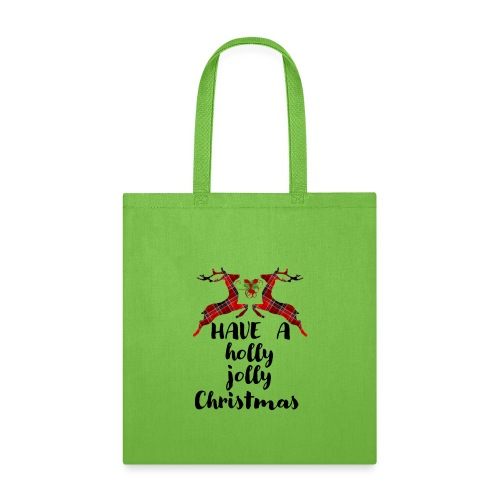 Holly Jolly Christmas - Tote Bag