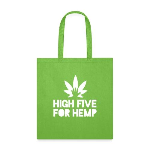 High Five for Hemp - Tote Bag