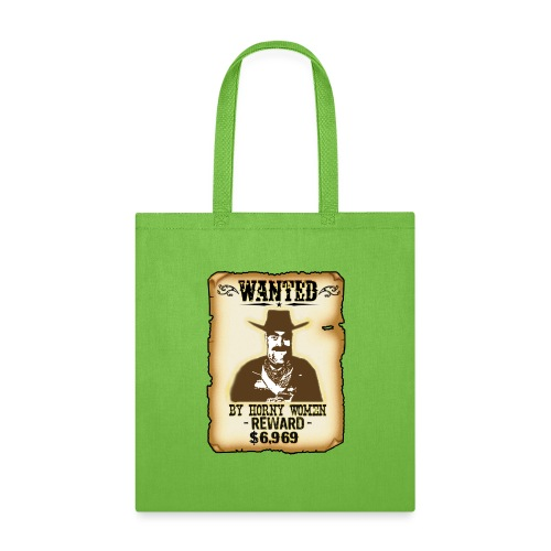 Cowboy Ox-Mad Wanted Poster! - Tote Bag