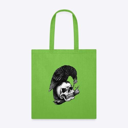 Skull Crow - Tote Bag