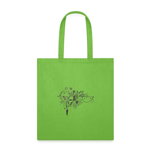 Grit Harbour Logo shirt - Tote Bag