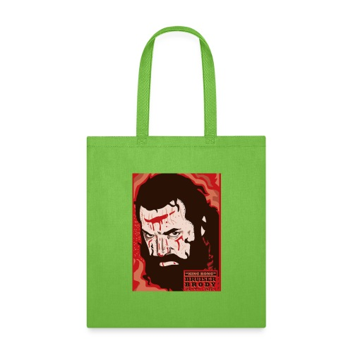 BRUISER BRODY Wrestling legend art print - Tote Bag