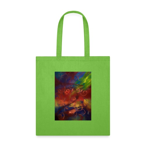 Abstract Fall Swirls - Tote Bag