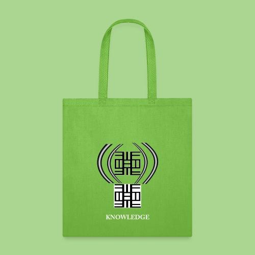 KNOWLEDGE png - Tote Bag