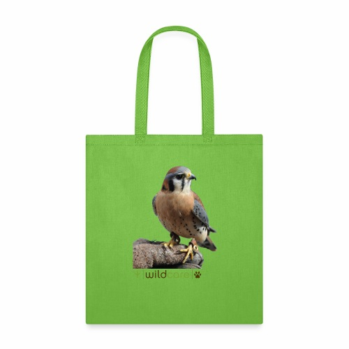 WildCare's non-releasable ambassador Kestrel Kele - Tote Bag