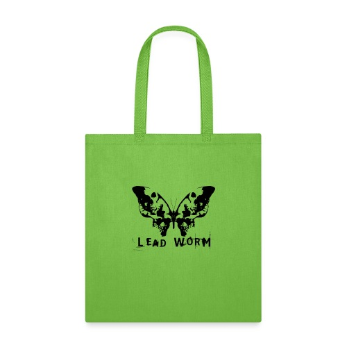 Lead Worm - logo - Tote Bag