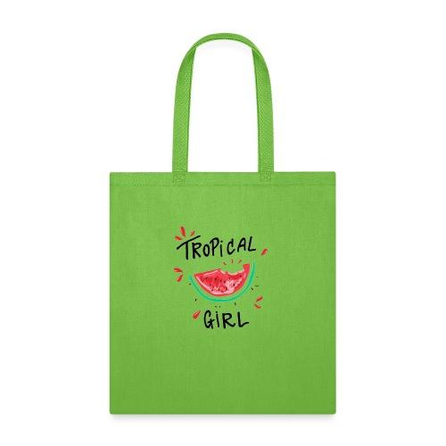 Tropical girl - Tote Bag
