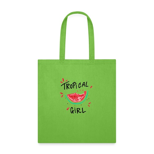 Tropical girl - Tote Bag