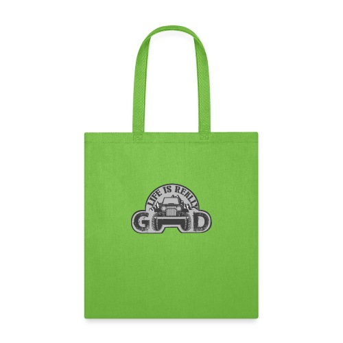 Life Is Really Good Jeep - Tote Bag