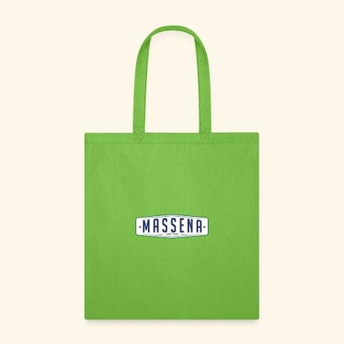 Massena Plate - Tote Bag