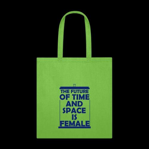 tardis_female_blue - Tote Bag
