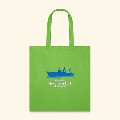 Eisenhower Lock Blue - Tote Bag