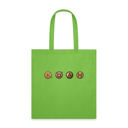 ROAM letters sepia - Tote Bag
