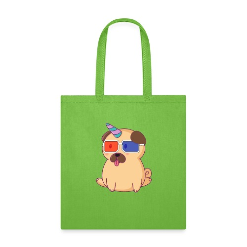 Dog with 3D glasses doing Vision Therapy! - Tote Bag