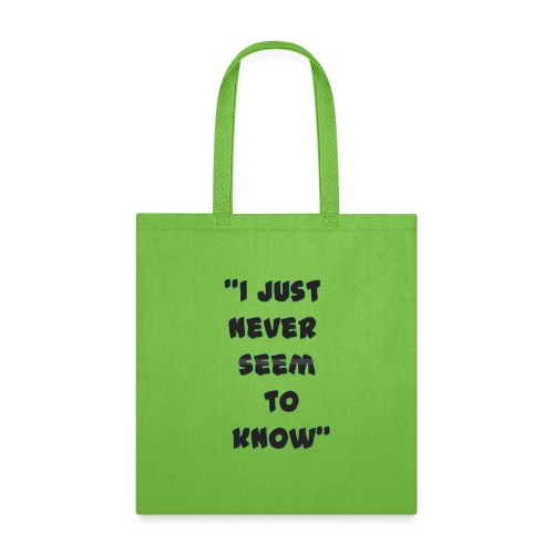know png - Tote Bag