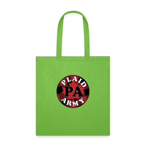 plaid army round - Tote Bag